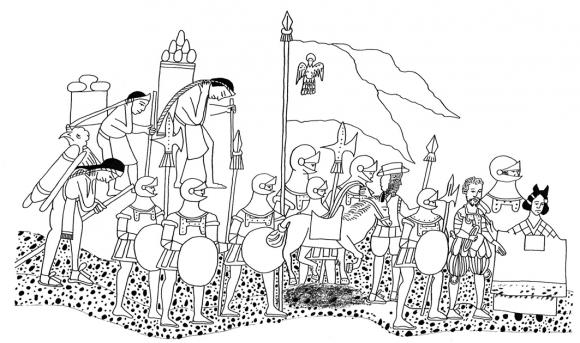 la conquista y la colonia en el c u00f3dice azcatitlan