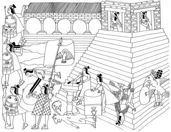 La Conquista Y La Colonia En El Cdice Azcatitlan