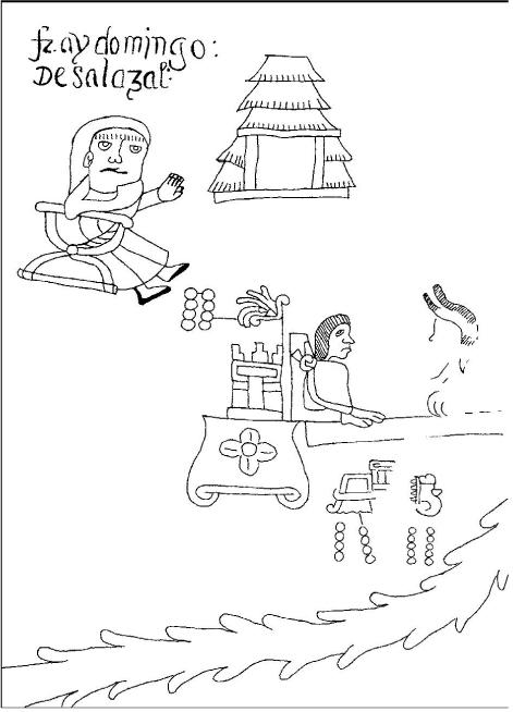 El siglo xvi en los lienzos de Coixtlahuaca