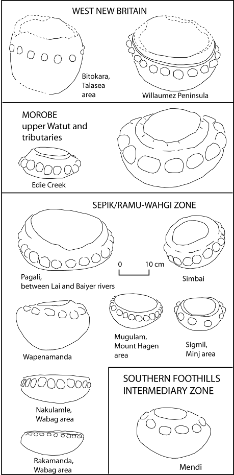 Figure 10. – Bossed bowls with rounded base