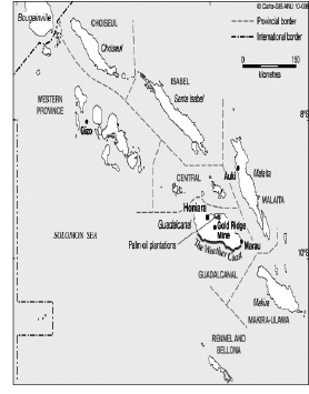 local experiences with mining royalties pany and the state in Account Manager Resume Objective figure 1 map of solomon islands