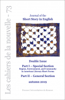 Cover of JSSE 73