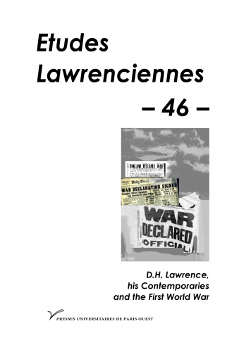 D.H. Lawrence, his Contemporaries and the First World War