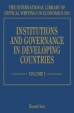 Institutions And Governance In Developing Countries   Institutions And Governance In Developing Countries