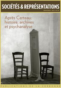 Apr s certeau histoire archives et psychanalyse for Miroir psychanalyse