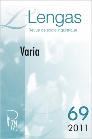 Couverture Lengas n° 69