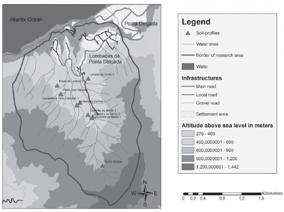 Agricultural terraces as a proxy to landscape history on