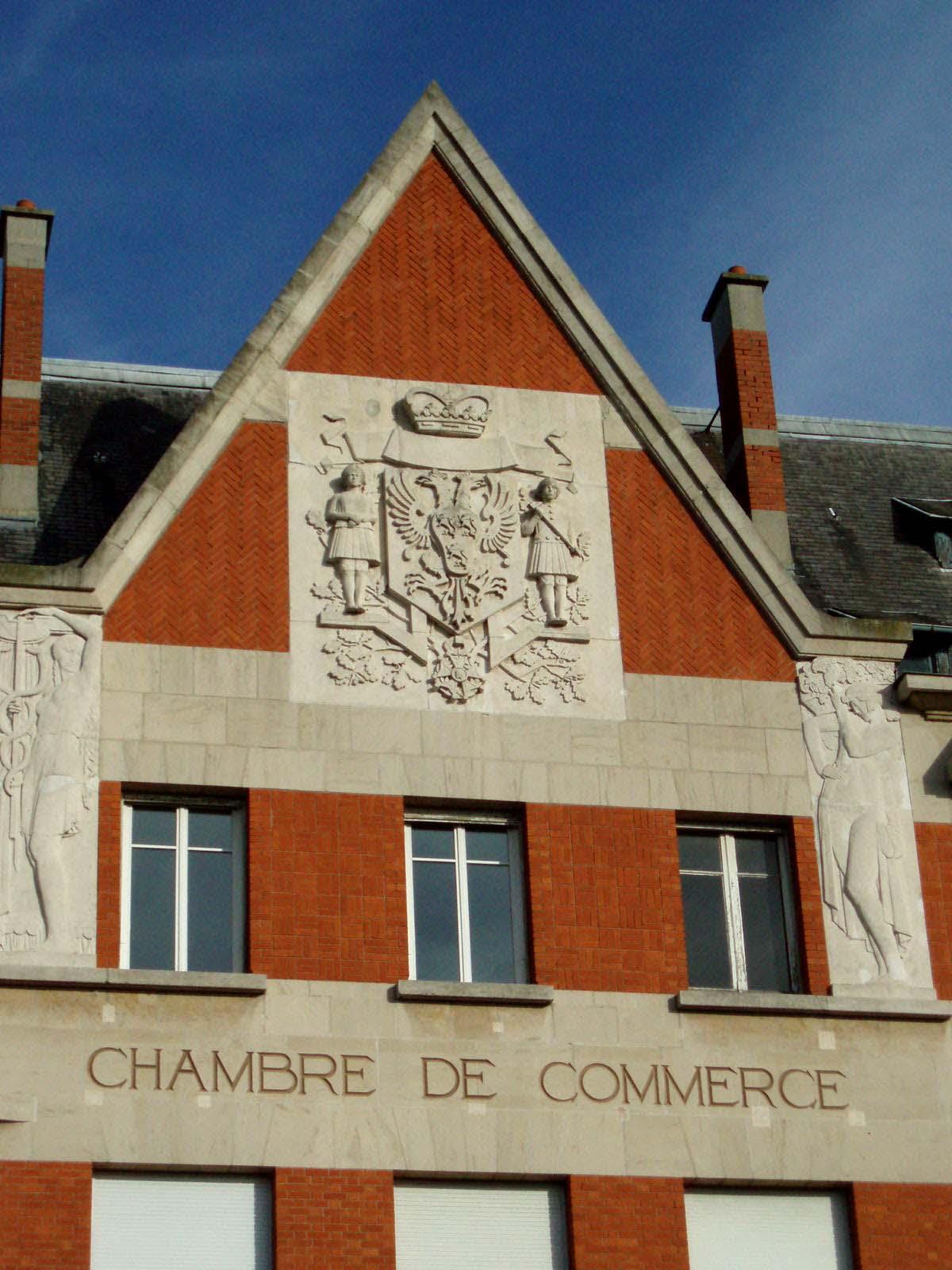 Architecte Cambrai la chambre de commerce de cambrai, vitrine de la reconstruction