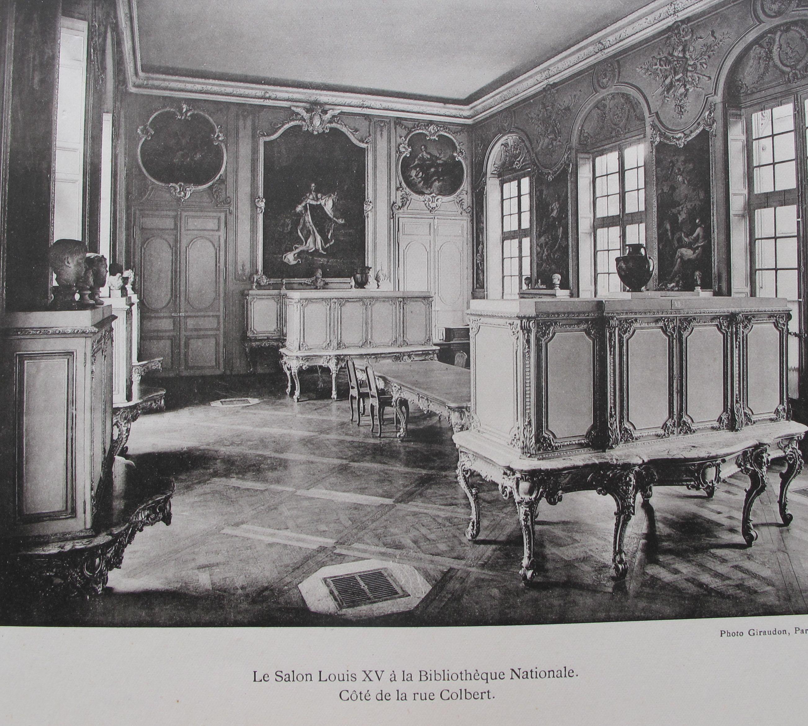 Le salon louis xv la biblioth que nationale de france - Le salon de la photo ...