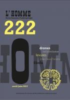 Couverture L'Homme, 2017,222