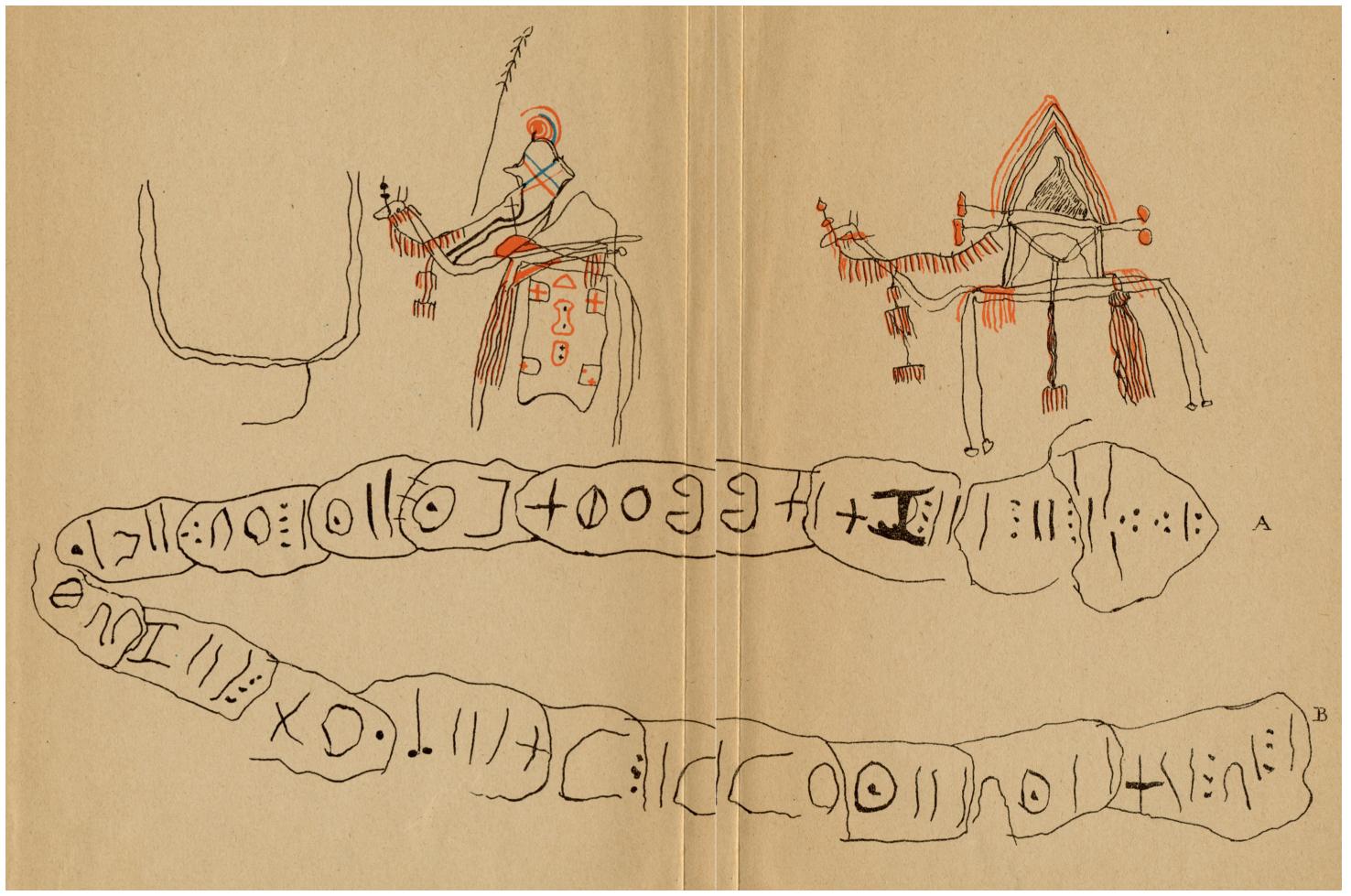 Lettre d'un prisonnier touareg à un officier français. Fin XIX° siècle