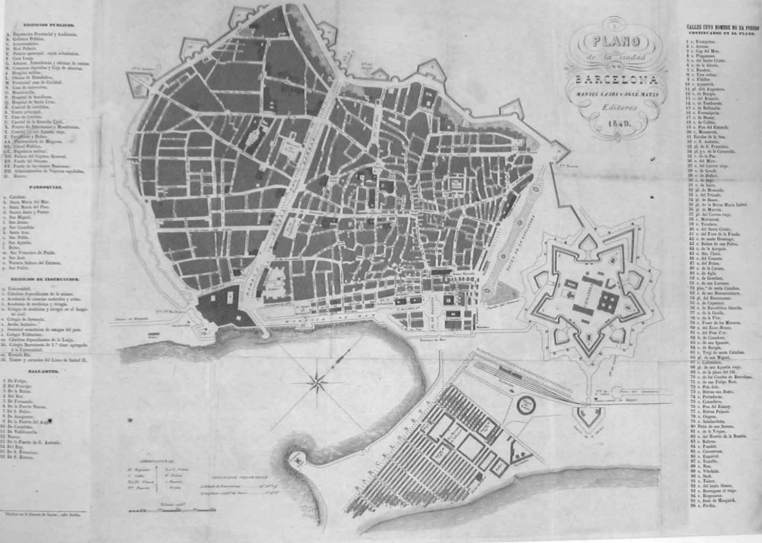 Carte Eixample Barcelone.Reduire La Ville En Carte Une Mise En Ordre Du Territoire Vues Et