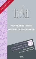 Lidil, n° 59 (2019)