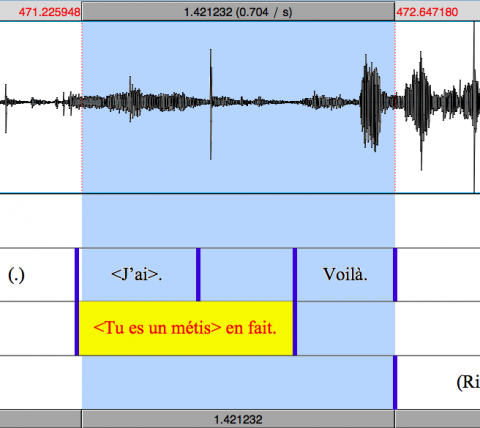Fig. 4. Exemple de chevauchement (extrait MPF : Noisy-le-Sec)