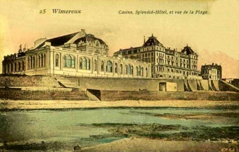 Fig. 4 : Carte postale du Casino et de l'hôtel Splendid (General Hospital n°14)
