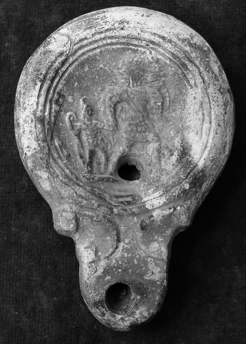 Fig. 12. — Lampe du British Museum [Herpes,Charente]