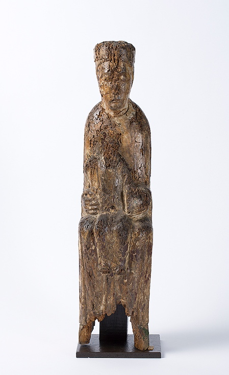 New Research Findings On 11th Early 13th Century Polychrome Wood Sculpture At The Royal Institute For Cultural Heritage Brussels