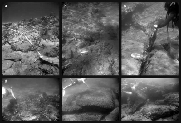 Late Holocene tsunami imprint at the entrance of the