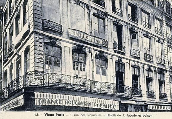 Apparieur et marchand de travail le bureau de placement à paris
