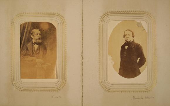 ... seconda metà del XIX secolo. Fig. 4 – Album di cartes de visite  appartenuto a Jessie White Mario e1e02bd1fde
