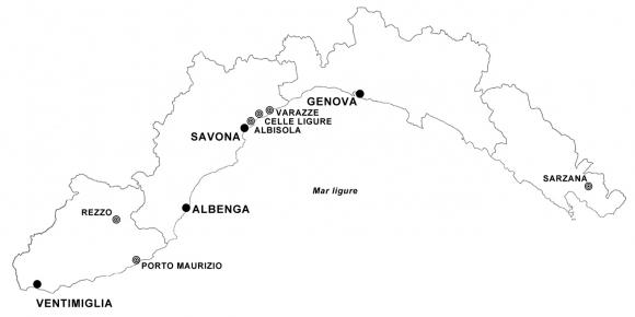Cartina Liguria Con Province.Statuti Liguri Primi Sondaggi Molteplicita Di Soluzioni