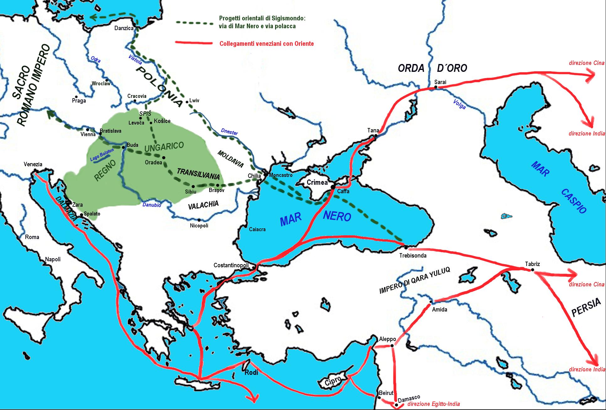 Datazione dellEuropa orientale