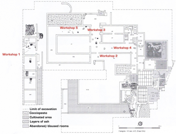 Metalworking In The Post Classical Phases Of Roman Villas