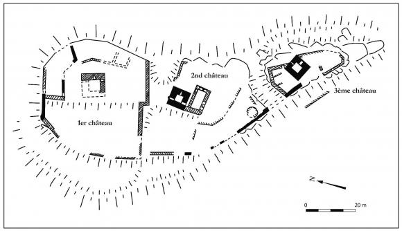 Connu Les manifestations architecturales de la coseigneurie : châteaux  XN34