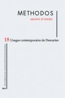 Methodos 18 (2018)