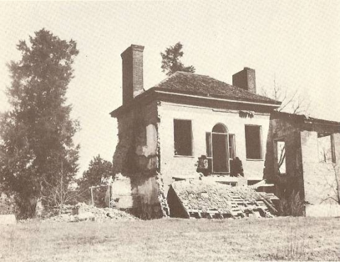 """Welty, Eudora. Home abandoned / old Natchez Trace, near Clinton"""