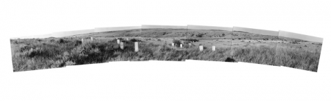 No. 2 Deborah Bright, Crow Agency: Battle of the Little Big Horn from Battlefield Panoramas series, 1981-84
