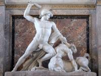 Thésée luttant contre le centaure