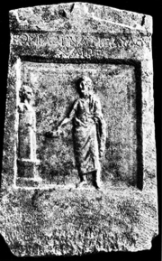 Fig. 9 : Stèle d'Hermias