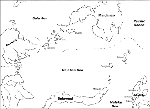 The Celebes Sea and its region