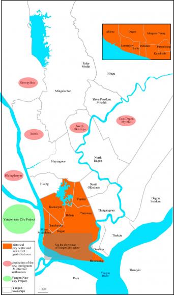 "Yangon ""Emerging Metropolis"": Challenges for the Authorities and on great wall of china map, myanmar map, hanoi map, mekong river map, murang'a map, jakarta map, kuala lumpur map, rangoon map, taipei map, taiohae map, bangkok map, yangtze river map, bumthang map, islamabad map, bandar seri begawan map, vientiane map, naypyidaw map, burma map, hong kong map, manila map,"