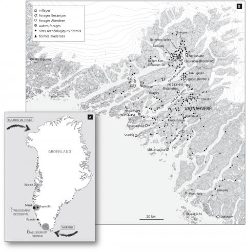 Groenland : des restes de plantes vieux d'un million d'années enfouis sous la glace Img-1-small480