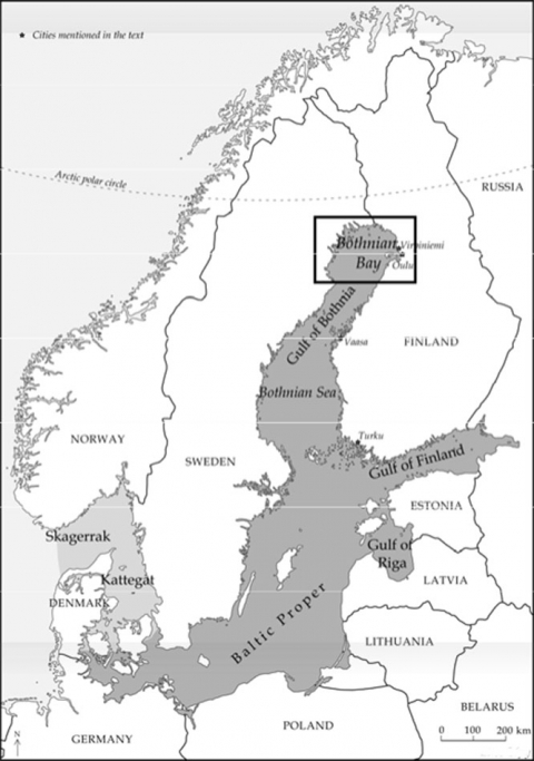 information and munication technologies a tool for risk Job Coach Resume Objective figure 1 the baltic sea area and location map