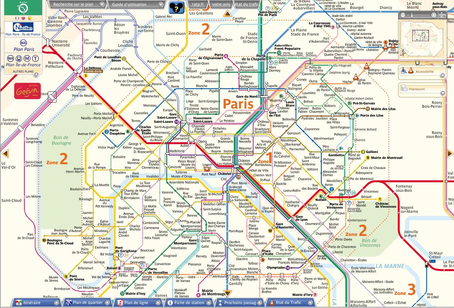 Le plan du métro comme métaphore spatiale et cognitive dans la