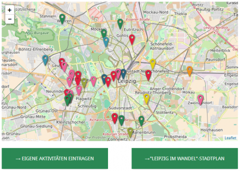 Figure 2: Screenshot of the 'Leipzig in transition' map (attribution to OpenStreetMap is missing)