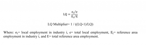 Formula of LQ and the LQ Multiplier