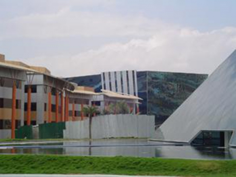 Le campus Infosys dans l'Electronic City