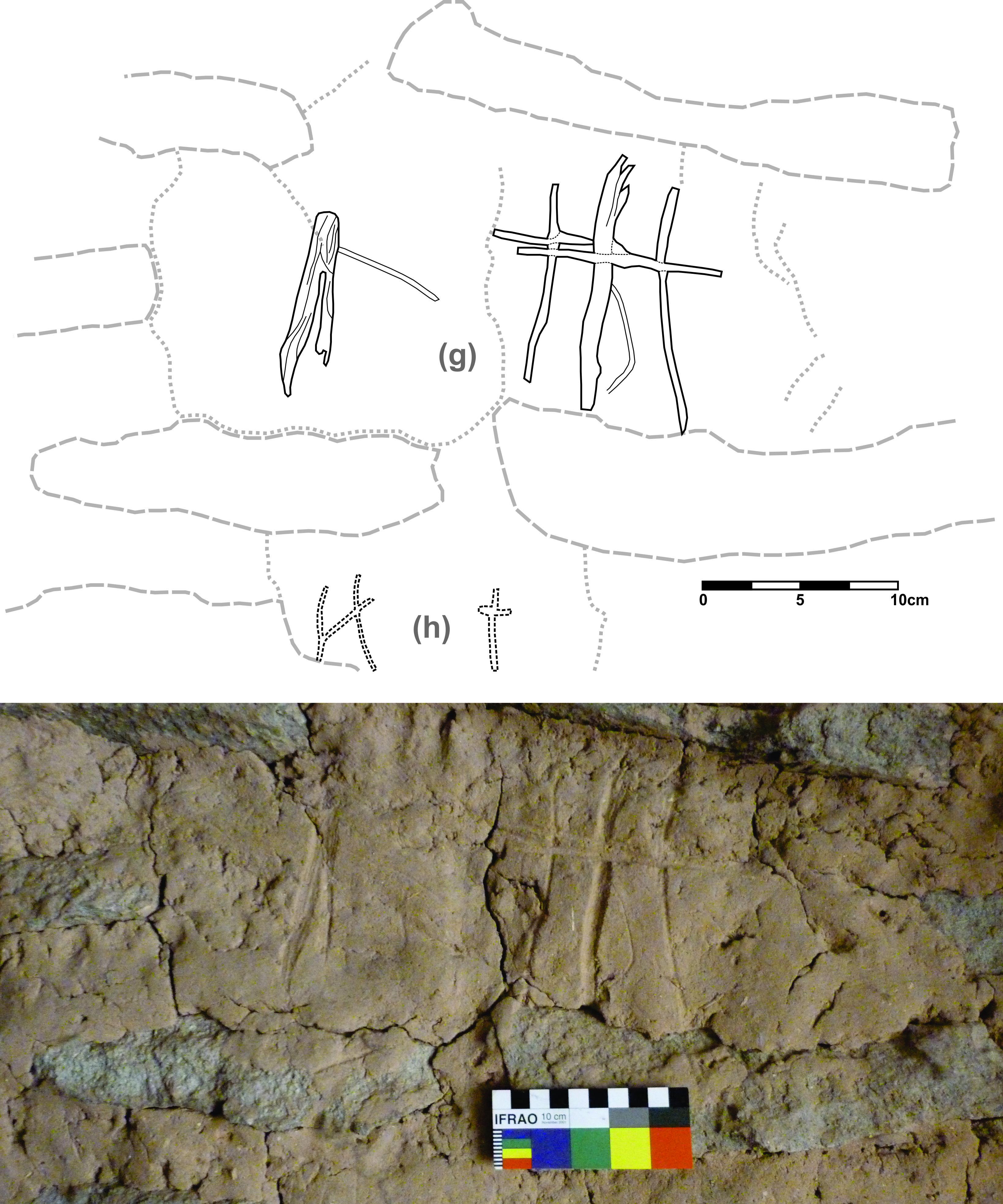 Cruces e iglesias en un contexto chullpario.Arte rupestre colonial ...