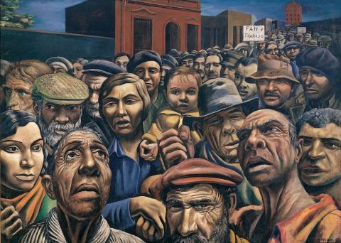 Illustration 2 - Antonio Berni, Manifestación, 1934