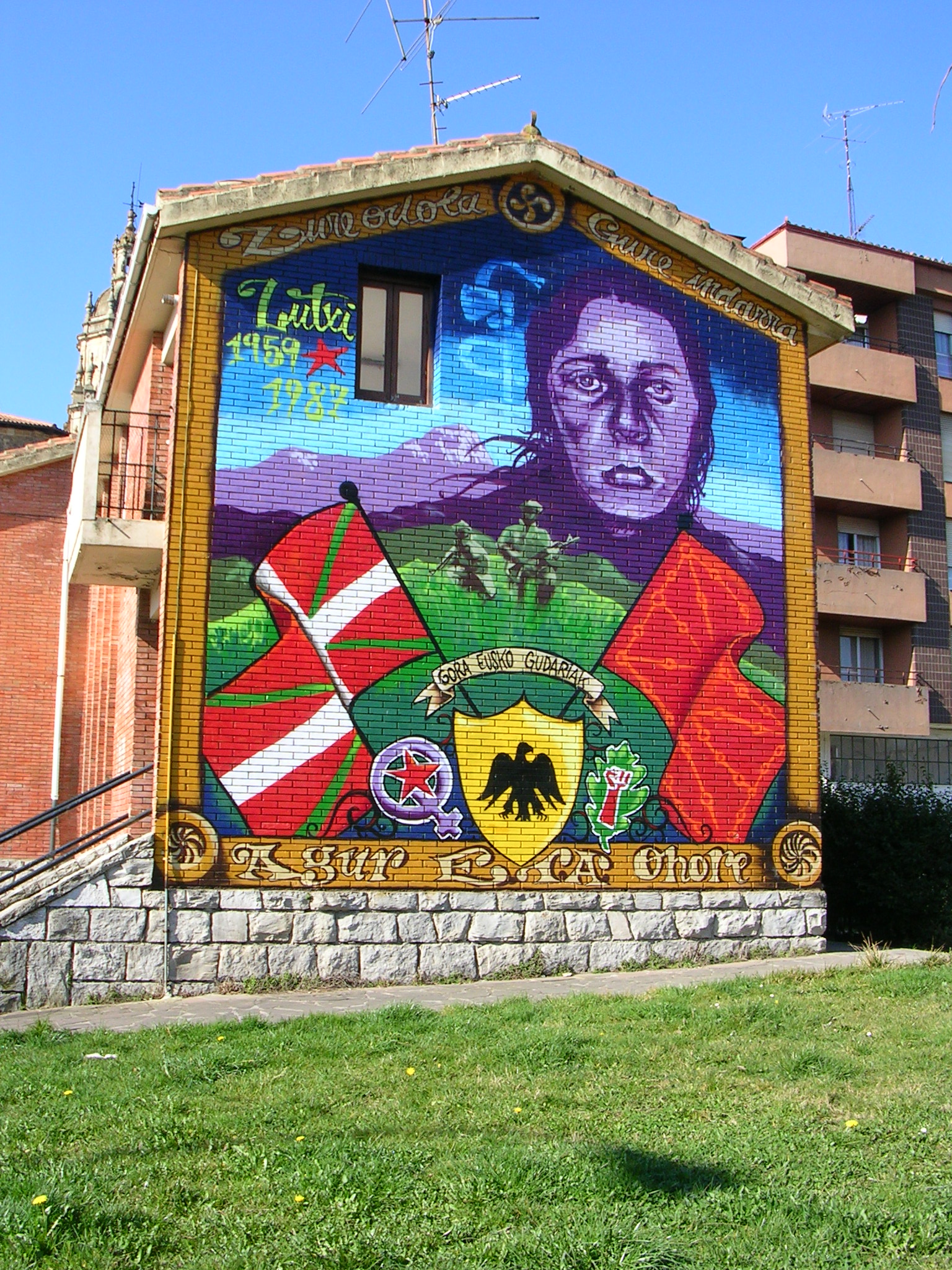 Circulations transnationales expressions murales for Mural irlande