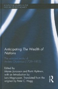 Anticipating The Wealth of Nations, cover
