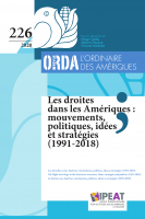 Couverture ORDA 226, 2020