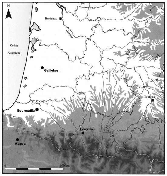 The Mesolithic Occupations Of Bourrouilla In Arancou