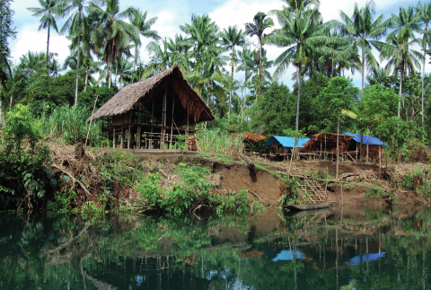 Figure 21 - Large Keipte Kuyumen stilt house, Karupai 2008 (photograph : Bruno David)