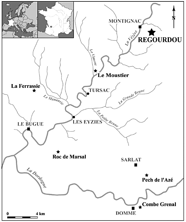 New Hominin Remains From The Site Of Regourdou Montignac Sur Vzre