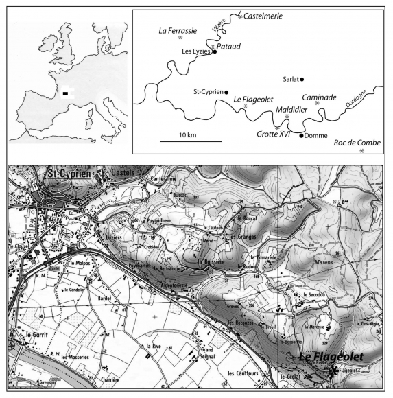 The Aurignacian And Gravettian In Northern Aquitaine The